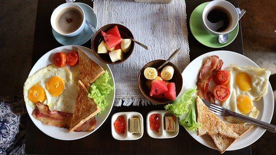 Micasa Guesthouse: 食材にこっていて美味しい!