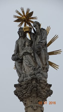 ‪Sculpture of the Holy Trinity‬