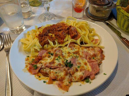 Casa Festa: Escalope à la parmigiana