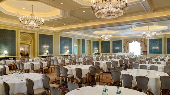 InterContinental Dublin's main ballroom can host up to 650 guests