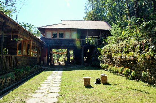 Mangan, Indien: The first level single cottage