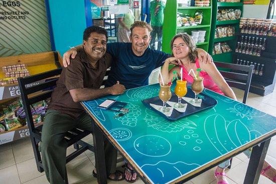 Tangalle, Sri Lanka: Leider keine Cocktails, sondern fantastische Fruchtsäfte!