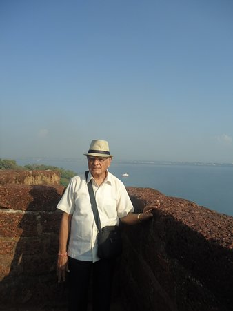 Sinquerim, India: View of SEA From FORT