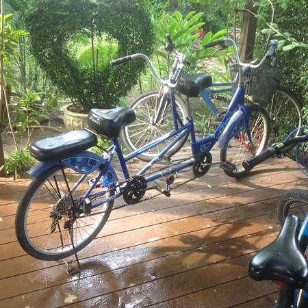 Lipa Noi, Tailandia: free bike or tandem hire
