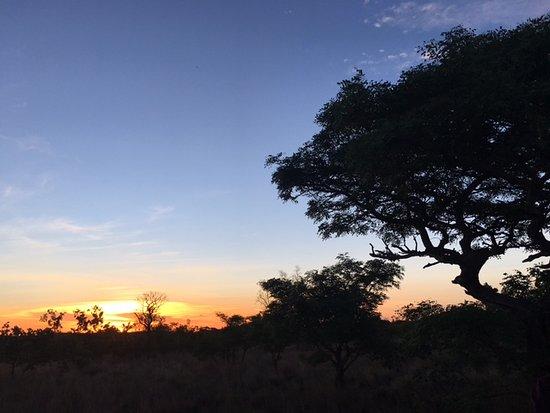 Welgevonden Game Reserve, Νότια Αφρική: Sundowners in the veld