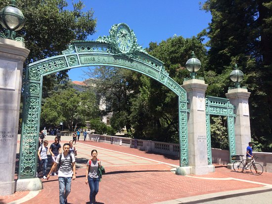 University of California, Berkeley: This is the school gate