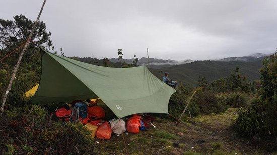 Tembagapura, Indonesia: Camp Site on Trekking way