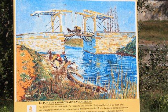 Pont Van-Gogh (Pont de Langlois): Zo zag van Gogh de brug.