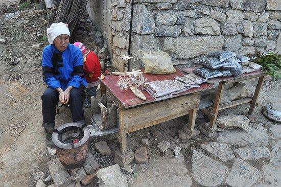 Guangnan County, China: Деревня Баймей