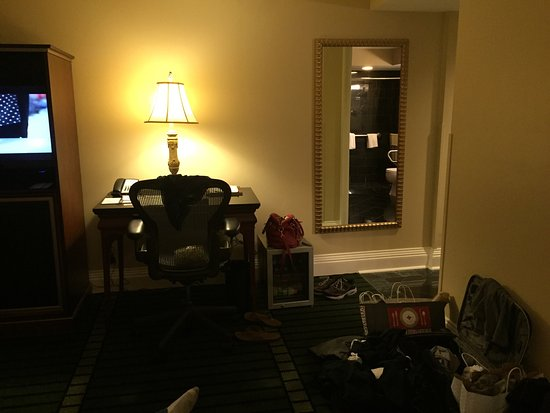 "Bourbon Orleans Hotel: Stayed for our ""minimoon"" and loved it! Floors were clean enough for my husband to lay on!! Lol"
