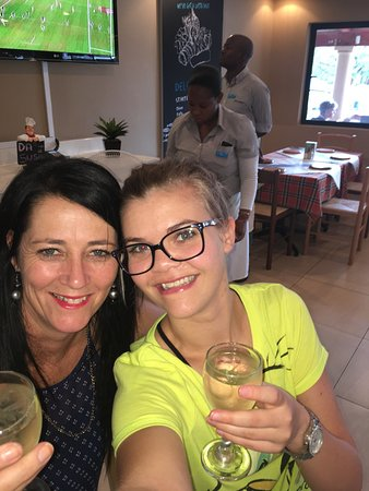 Mokopane, Sydafrika: Good food, good wine and good friendship