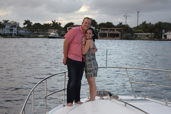 Free To Be Boating: She said YES!