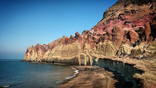 Hormoz, איראן: moffannegh beach in hormoz island 