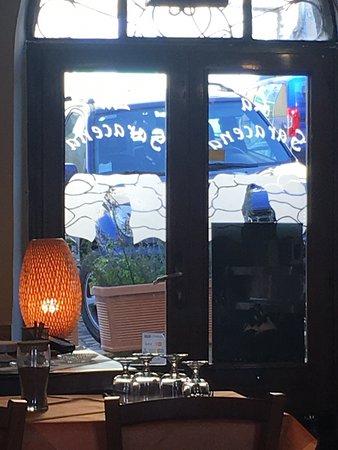 Segni, Italy: Interno del locale. Caldo e accogliente