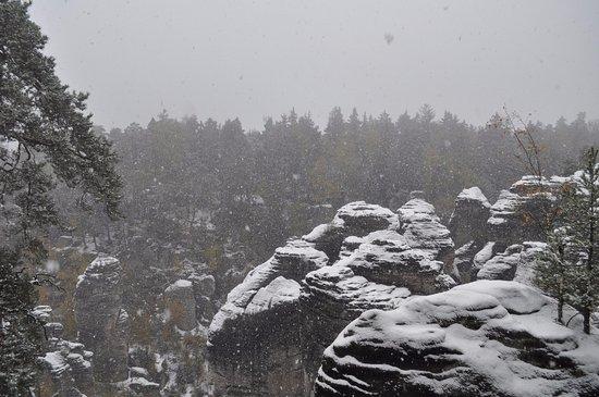 Jicín, República Checa: Праховские скалы