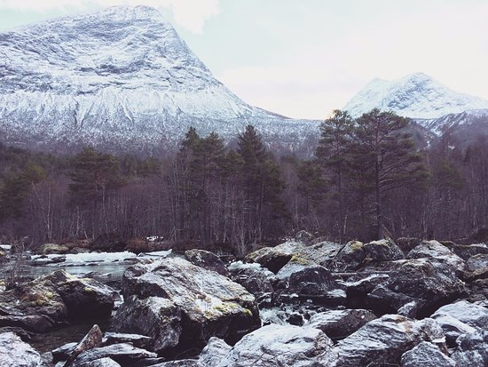 Valldal, Norway: View from one of the walks in the surrounding area.