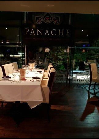 Beautiful restaurant beautiful food