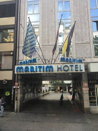 Fachada Do Hotel Picture Of Maritim Hotel Munchen