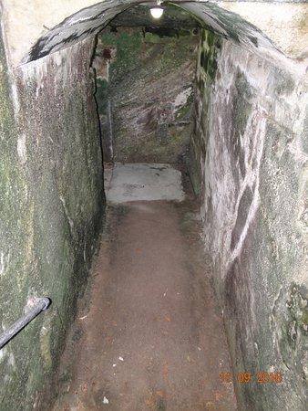 Fort Scaur: Tunnel