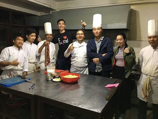 Restaurant Kitchen Staff fun kitchen staff :-] - picture of mountain steak house restaurant