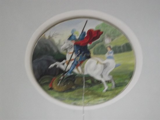 Sucuraj, Croacia: St George on the Ceiling