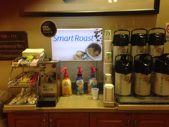 Holiday Inn Express Hotel & Suites - Veteran's Expressway: Coffee!!!