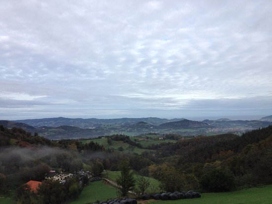 Urnieta, Espagne : vista desde la terraza