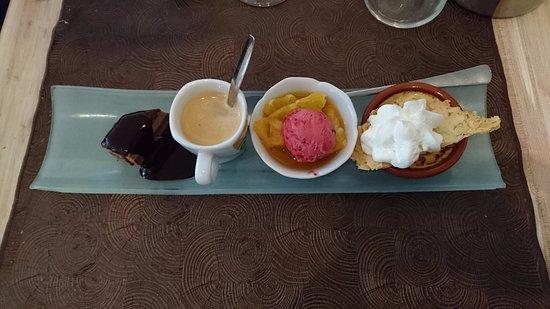 Le Saint Germain : Café gourmand