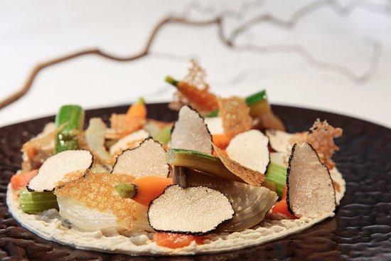 Иль-де-Франс, Франция: Plat végétarien du 1 Place Vendôme