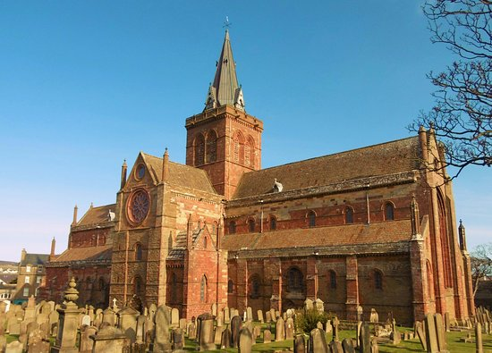 Stenness, UK: St Magnus Cathedral was founded in 1137 but is still a working church and as beautiful inside as