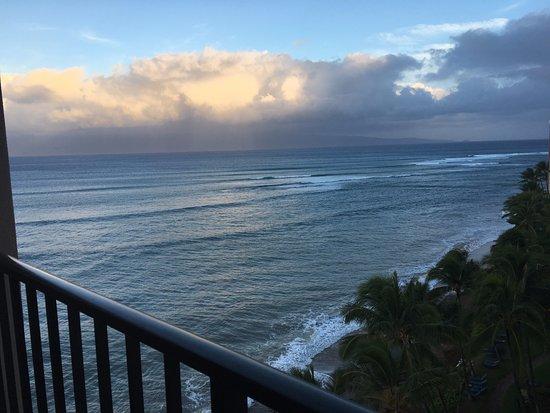 Kahana Beach Resort: Room 1002 View
