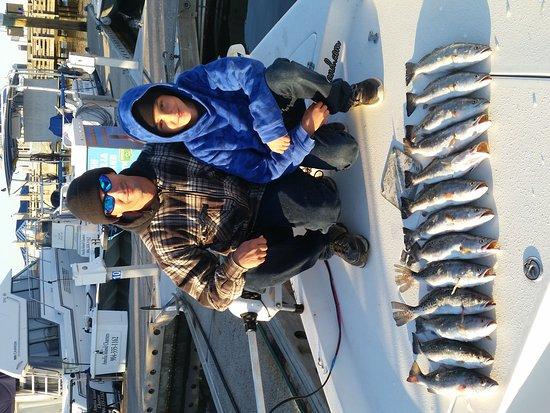 Fernandina Beach, Floride : Louisiana boys killed the trout