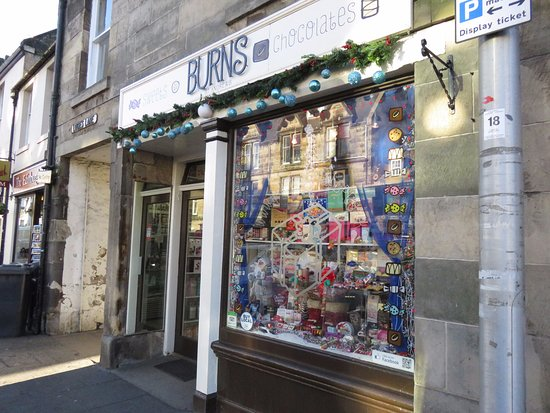 Burns sweet shop