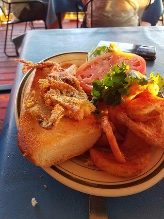 soft shelled crab sandwich