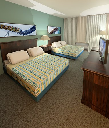 Cedar Point's Express Hotel : All-new Guest Room