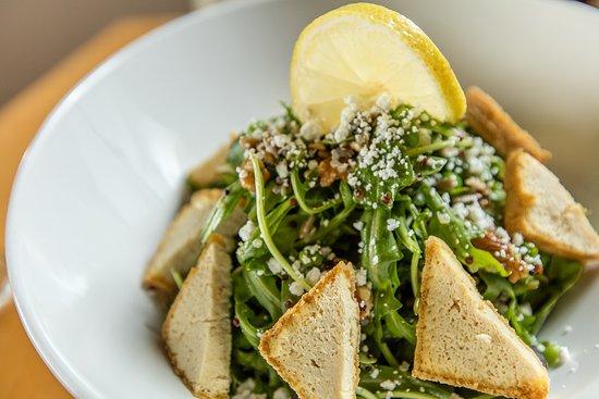 Chatham, Canada: Rocket and Quinoa with Tofu