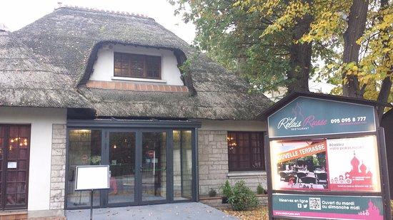 Fa ade du restaurant photo de le relais russe morsang for Garage citroen corbeil