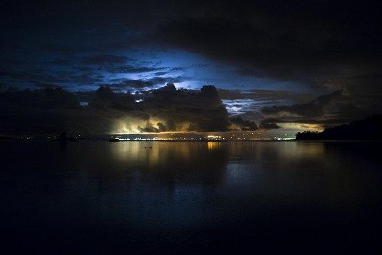 Province of Puntarenas, Costa Rica: Hermosa vista de Puntarenas desde la isla