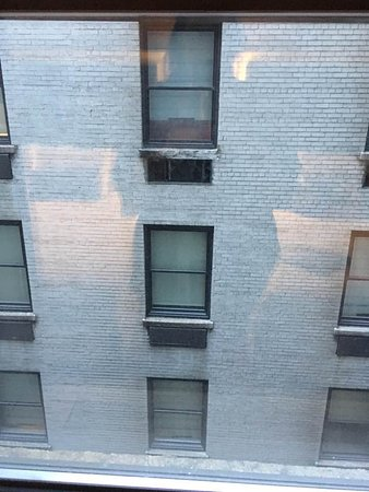 """Empire Hotel: This was our """"Courtyard View"""" that we paid extra for."""