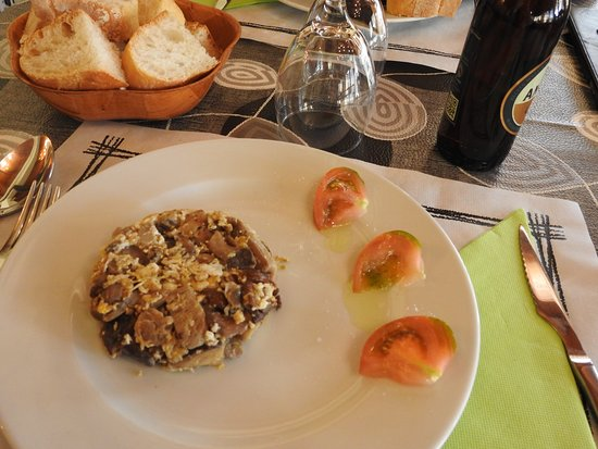 Una, Spain: Mushrooms omlet