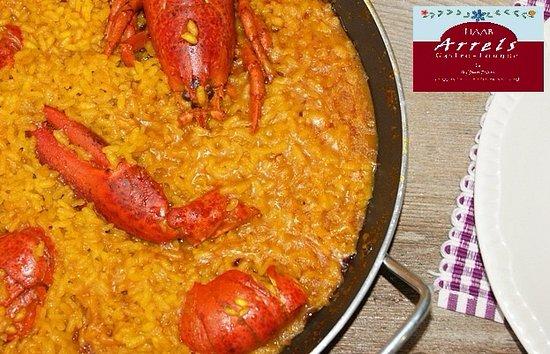 Burriana, إسبانيا: arrosset amb bogavant