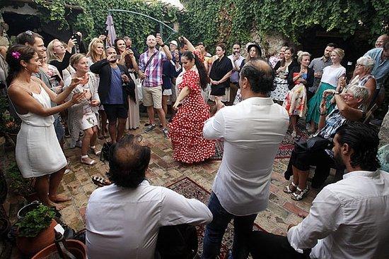 Jalon, Spain: Fiesta de la pisada de la uva