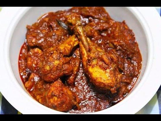 Holetown, Barbados: Zaccios Chicken Curry