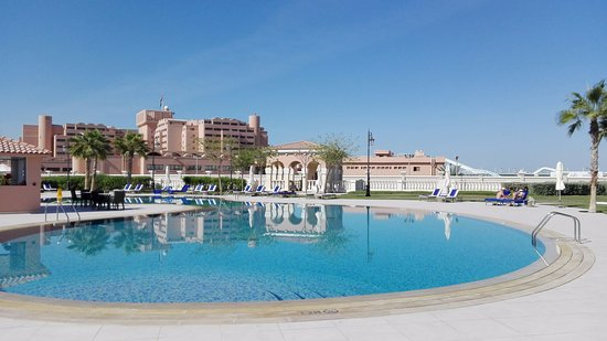Adult Only Pool Picture Of The Ritz Carlton Abu Dhabi Grand Canal Tripadvisor