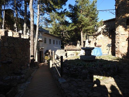Una, Spain: The entrance