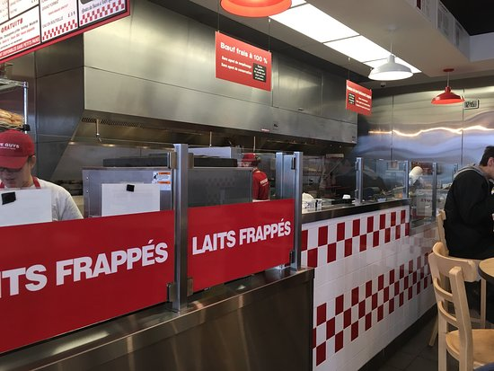Blainville, Canada: Five Guys