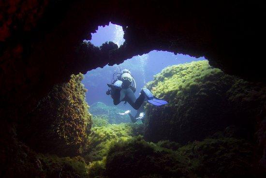 Sant Lluis, Spanien: Inmersión en Es Cargol