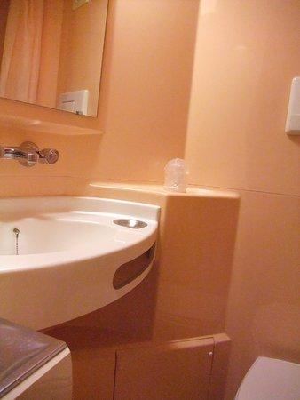 Touques, Francia: Salle d'eau avec douche , toilette et lavabo