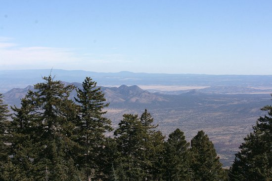 Sandia Park, NM: View From The Top