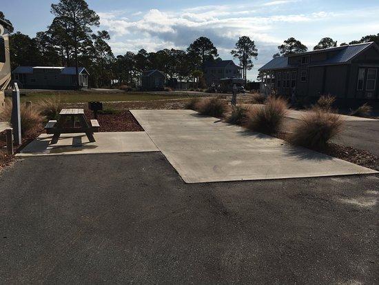 Carrabelle Beach, an RVC Outdoor Destination: level concrete pads